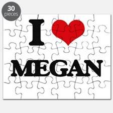 I Love Megan Puzzle