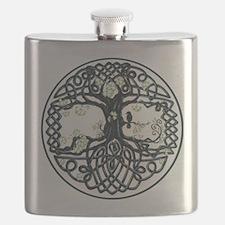 Celtic Tree Knot Flask