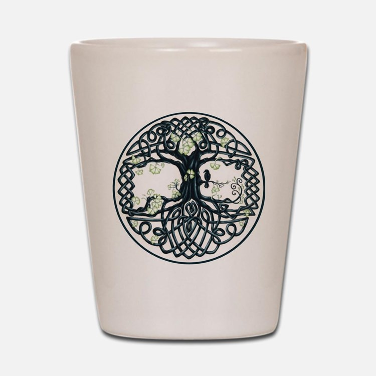 Celtic Tree Knot Shot Glass