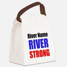 River Strong Canvas Lunch Bag
