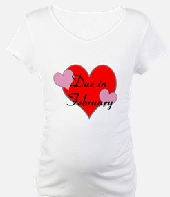 Funny Due in february Shirt