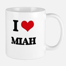 I Love Miah Mugs