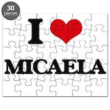I Love Micaela Puzzle