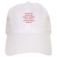 moral support Baseball Cap