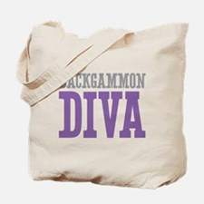 Backgammon DIVA Tote Bag