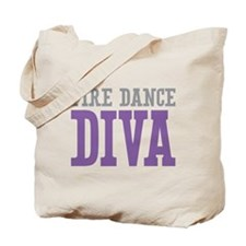 Fire Dance DIVA Tote Bag