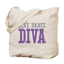 Line Dance DIVA Tote Bag