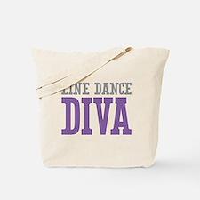 Line Dance DIVA Tote Bag