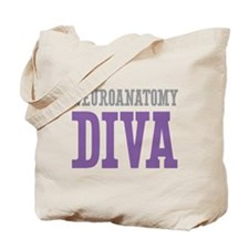 Neuroanatomy DIVA Tote Bag