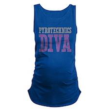 Pyrotechnics DIVA Maternity Tank Top