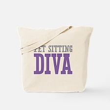 Pet Sitting DIVA Tote Bag
