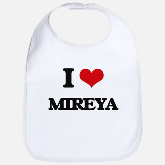 I Love Mireya Bib
