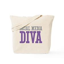 Social Media DIVA Tote Bag