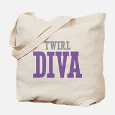 Twirl DIVA Tote Bag