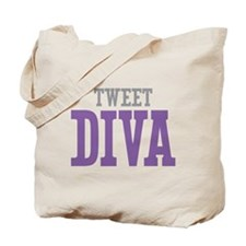 Tweet DIVA Tote Bag