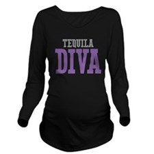 Tequila DIVA Long Sleeve Maternity T-Shirt