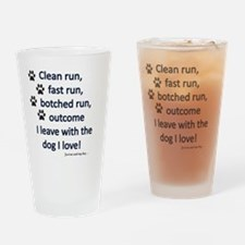 Cute Agility Drinking Glass