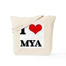 I Love Mya Tote Bag