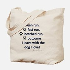 Cute And run on Tote Bag