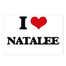 I Love Natalee Postcards (Package of 8)