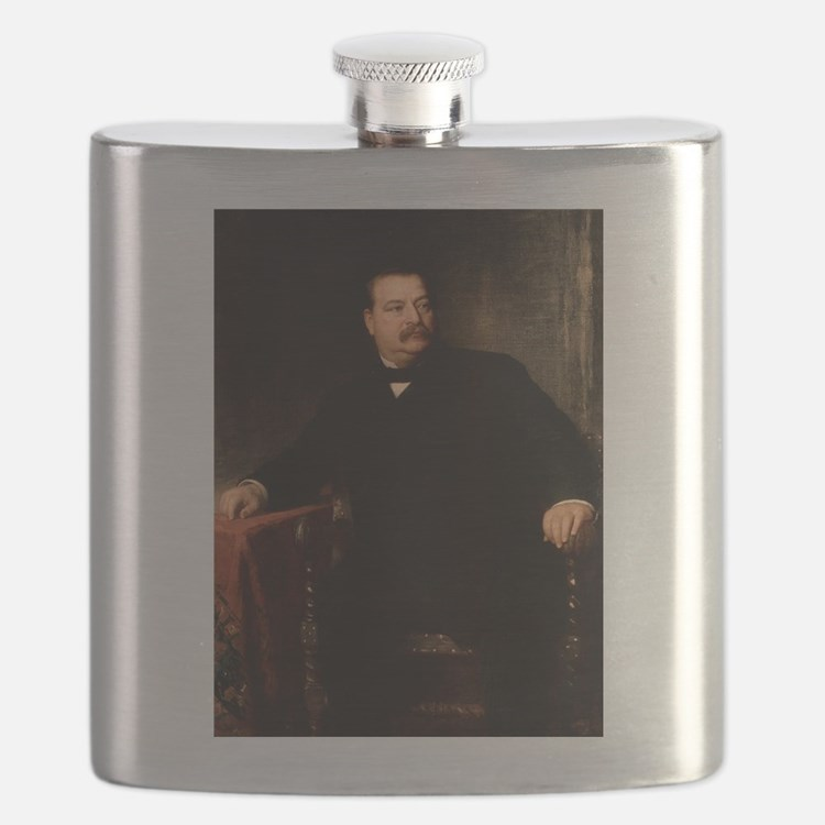 grover cleveland Flask