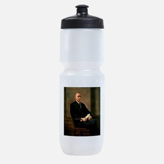 calvin,coolidge Sports Bottle