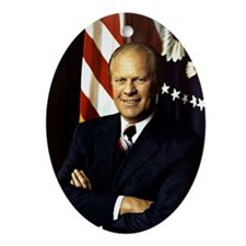 gerald ford Ornament (Oval)