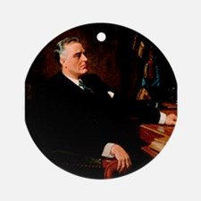 franklin d roosevelt Ornament (Round)