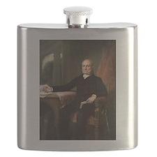 john quincy adams Flask