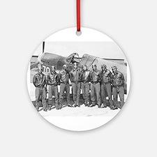 tuskegee airmen Ornament (Round)