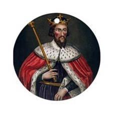 alfred the great Ornament (Round)