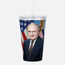dick cheney Acrylic Double-wall Tumbler