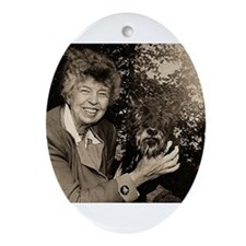 eleanor,roosevelt Ornament (Oval)