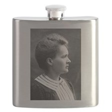 marie curie Flask