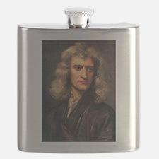 sir isaac newton Flask