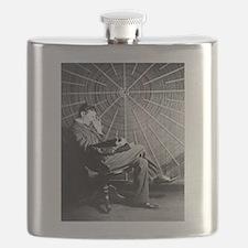 nicola tesla Flask