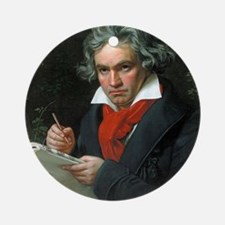 beethoven Ornament (Round)