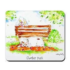 Clumber Spaniel Clumber Park Mousepad