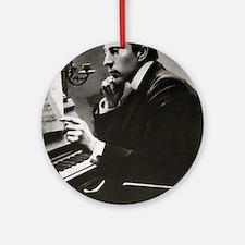 rachmaninoff Ornament (Round)