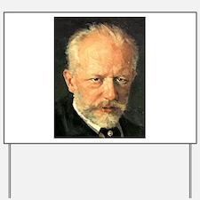 tchaikovsky Yard Sign