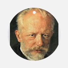 tchaikovsky Ornament (Round)