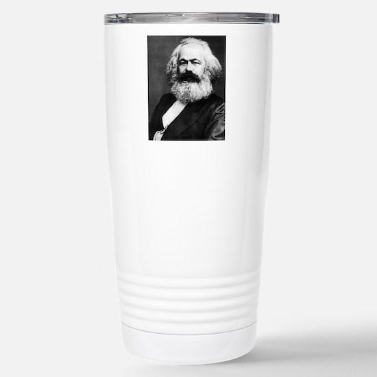 karl marx Stainless Steel Travel Mug