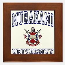 MURAKAMI University Framed Tile