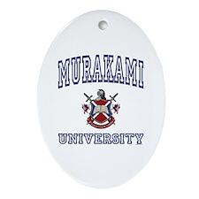 MURAKAMI University Oval Ornament