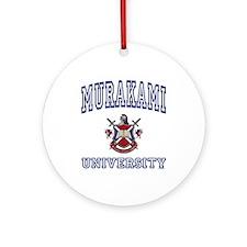 MURAKAMI University Ornament (Round)