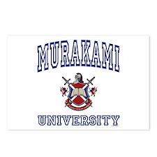 MURAKAMI University Postcards (Package of 8)
