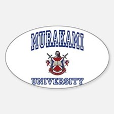 MURAKAMI University Oval Decal