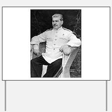 joseph stalin Yard Sign