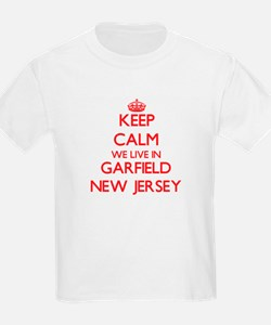 Keep calm we live in Garfield New Jersey T-Shirt