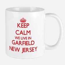 Keep calm we live in Garfield New Jersey Mugs